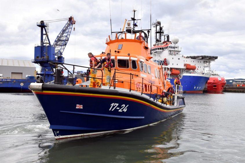 RNLI Aberdeen Lifeboat Station