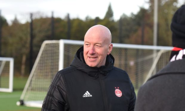 Neil Simpson is now Aberdeen's pathways manager