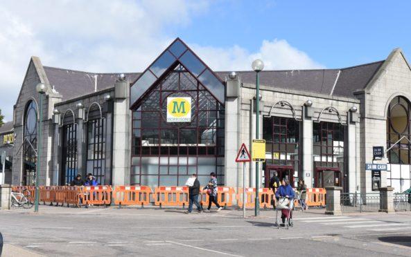 Aberdeen's Morrisons store.