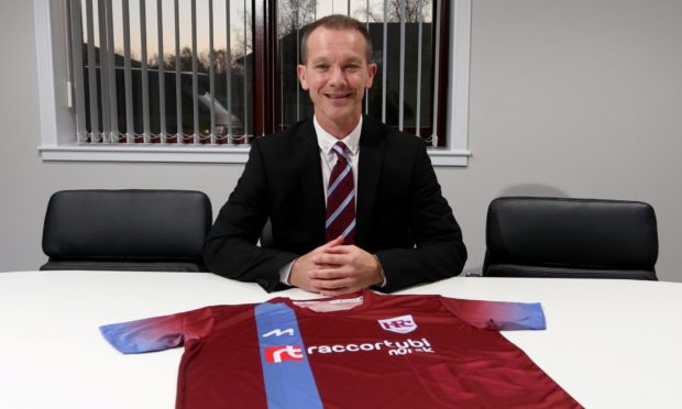 Keith manager Andy Roddie