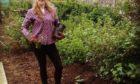 Rebecca Dunn, a CFINE community growing development worker