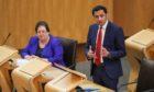 Scottish Labour leader Anas Sarwar during First Minister's Questions.