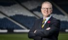 Aberdeen and Scotland legend Alex McLeish at Hampden.