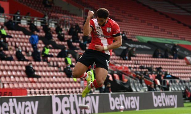 Southampton striker Che Adams.