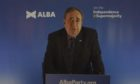 Alex Salmond launches his new party. Badly.