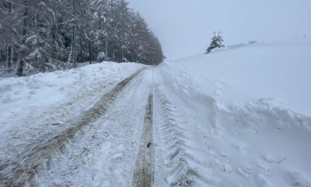 Aberdeenshire Council has praised workers who have kept essential services going despite challenges such as heavy snowfall.