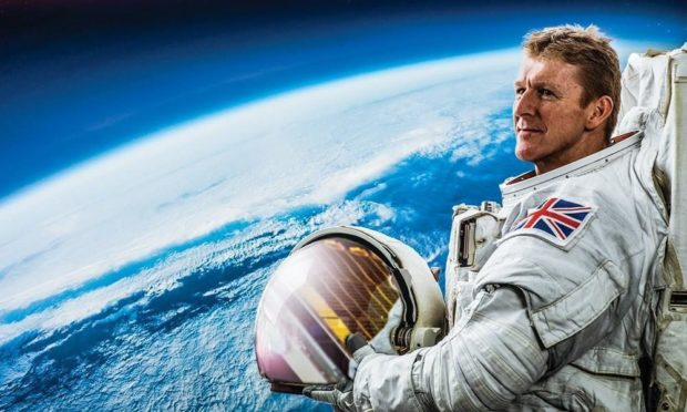 British astronaut Tim Peake will tell Aberdeen audiences about his journey into space.