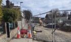 People have been ignoring warnings to stop using the narrow path on Carron Terrace.
