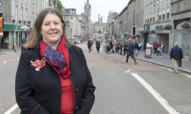 Councillor Sandra Macdonald, chairwoman of Nestrans.