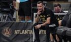 New Aberdeen manager Stephen Glass whilst at Atlanta United.