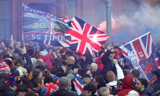 The Scottish Government want to avoid scenes like this next weekend.