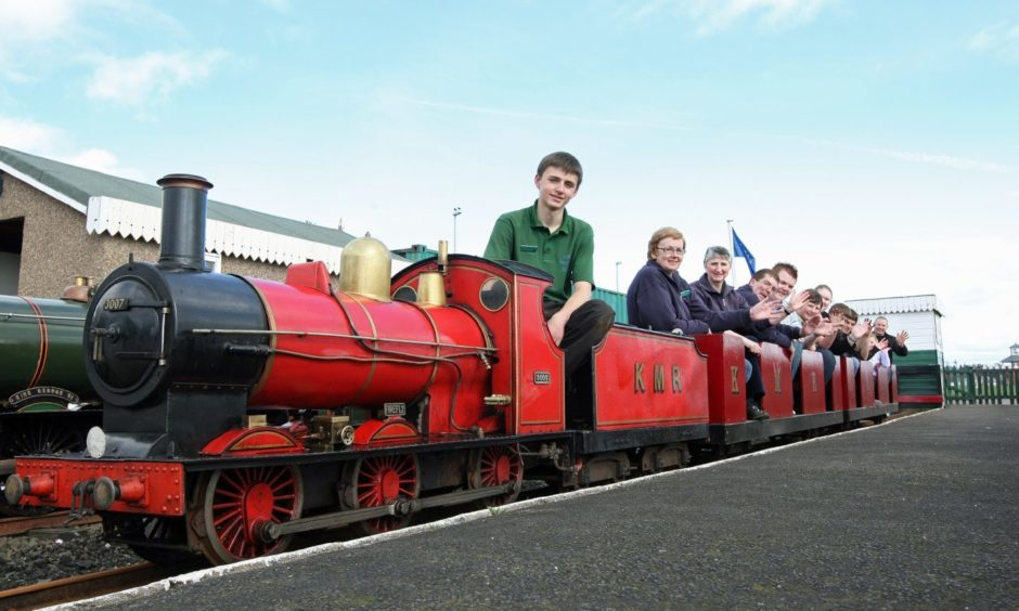 Our weekly 10 from 10 gallery features the miniature railway in Arbroath.