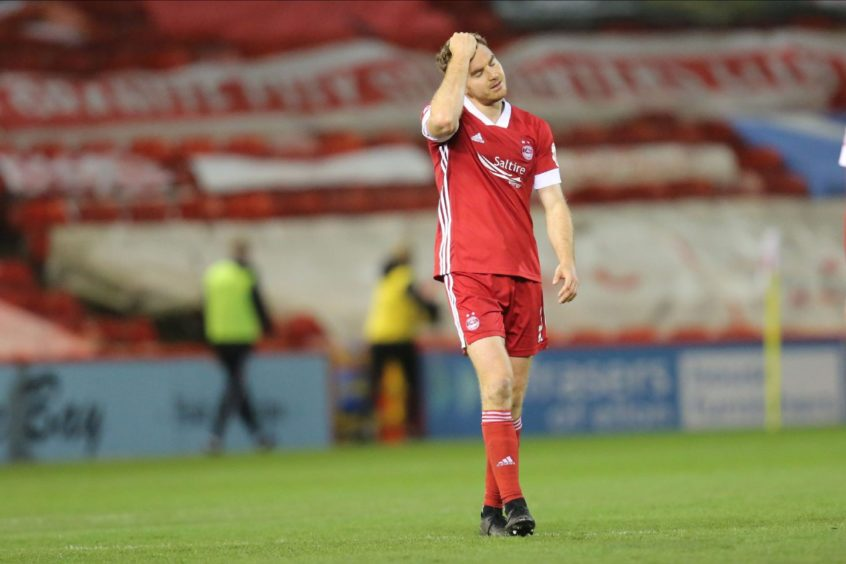 Tommie Hoban is one player who is out of contract at Aberdeen.