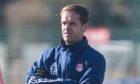 Aberdeen Under-18s coach Scott Anderson.
