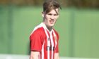 Cole Anderson in action for Formartine.