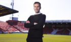 New Aberdeen manager Stephen Glass at Pittodrie.