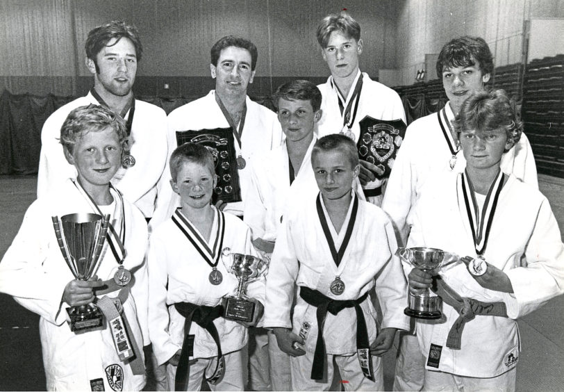 1991 - Aberdeen Judo Club's North area championship winners