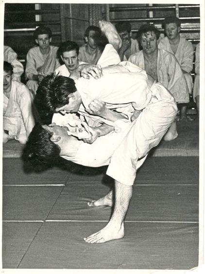 1962 - A match between D Sutherland (Aberdeen University) and Michael Crawford (High Senior)