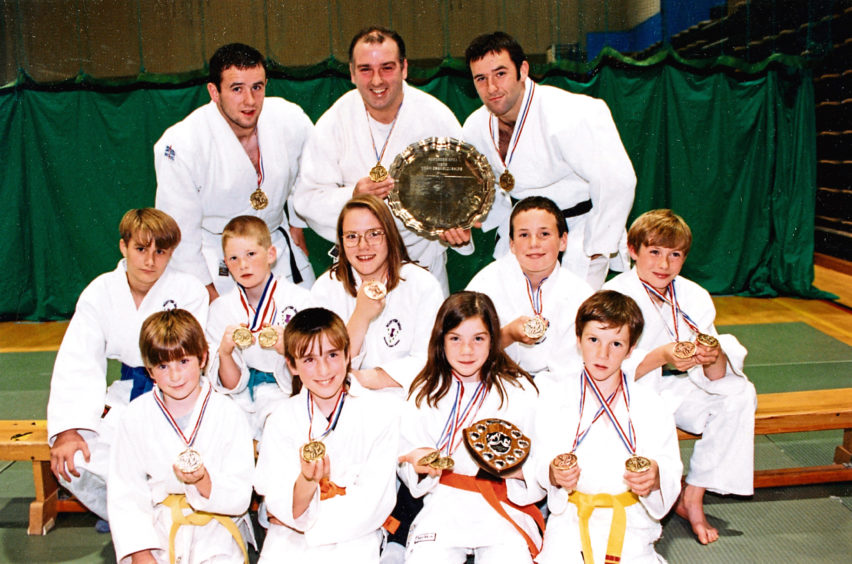 1994 - Winners from the two-day open championship hosted by Aberdeen Judo Club at Linksfield