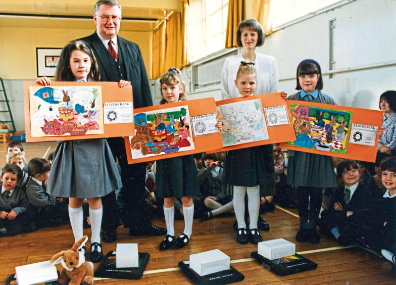 1992 - Elizabeth Adamson, Graham Taylor and David Taylor designed a newspaper as part of a schools competition