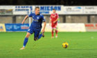 Peterhead's Scott Brown. Picture by Darrell Benns