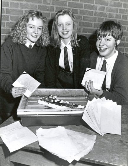 1991: Two groups of top North-east pupil entrepreneurs are set to jet off to Belgium to attract new Euro-customers. The Magenta notepaper company from Hazlehead Academy and Out of the Hat from Kemnay Academy, which makes T-shirts, were chosen for the VIP trip because of their sales success at the Youth Enterprise Trust's Christmas Fair.