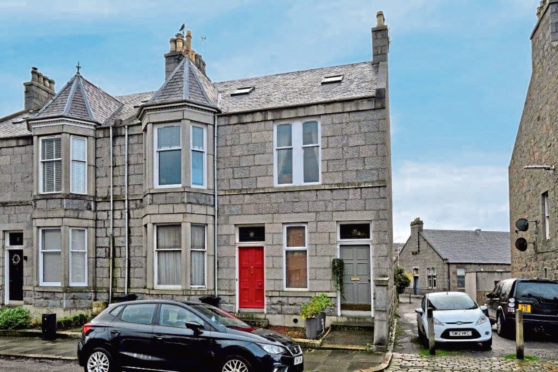 To go with story by Karla Sinclair. For EE At Home spread scheduled for Friday, April 30 edition. Picture shows; 7 Stanley Street, Aberdeen. 7 Stanley Street, Aberdeen. Supplied by Raeburn Christie Clark & Wallace Date; Unknown