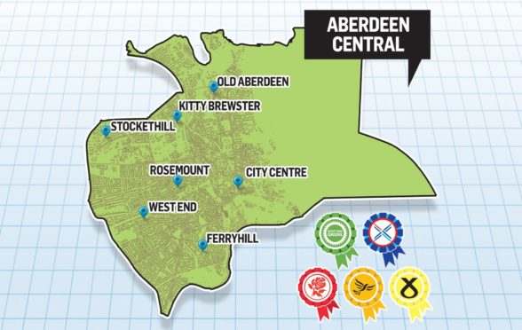 Aberdeen Central is currently held by the SNP.