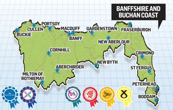 Banffshire and Buchan Coast will have a new MSP.