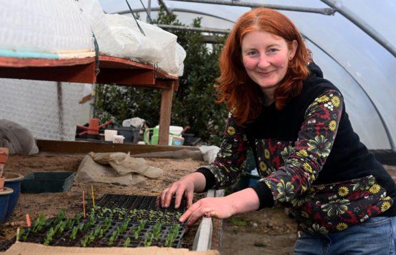 Anna Wilson of Huntly Herbs