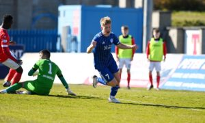 Hamish Ritchie has impressed during his loan spell with Peterhead.