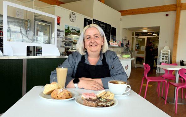 Angela Jackson of Beachside Coffee Shop