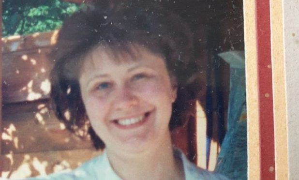 Christine Thomson was reported missing yesterday.