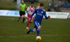Peterhead midfielder Derryn Kesson.