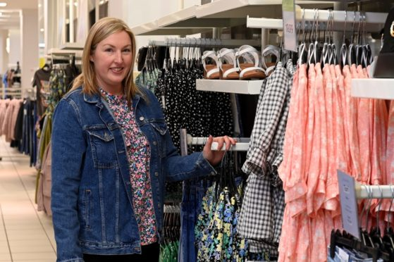 New Look store manager Joanne Minty.