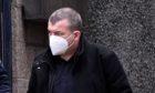 Darren Morrison leaving court.