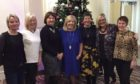 From left: Linda McLeod, Muriel Milne, Moira Tait, Maureen Tough, Audrey Kirkpatrick, Carolyn McAllan and Gail Armstrong at the Mercure Aberdeen Caledonian Hotel