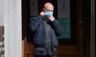 Michal Orlowski leaving court.