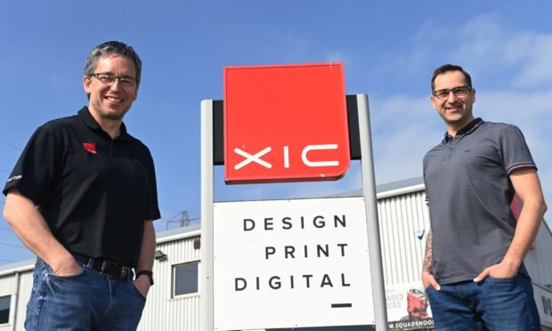 Jason Moir from XIC and Michal Piechocki from Odfjell Well Services.