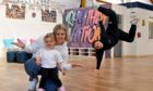 Natasha Stewart is opening Rhythm Nation Dance And Fitness studio in Stonehaven and is pictured with daughter Isla Belle Macgregor, and her sister and dancer Erin McIntyre.