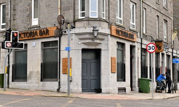 Victoria Bar on Menzies Road.