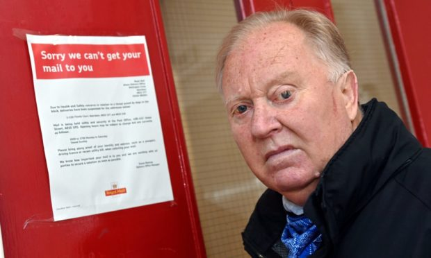 Royal Mail have cut Thistle Court, Aberdeen, out of the delivery route as staff are being 'intimidated' by dogs in the high rise. Councillor Bill Cormie has hit out at the decision, when so many are waiting on appointment letters for Covid jabs.
