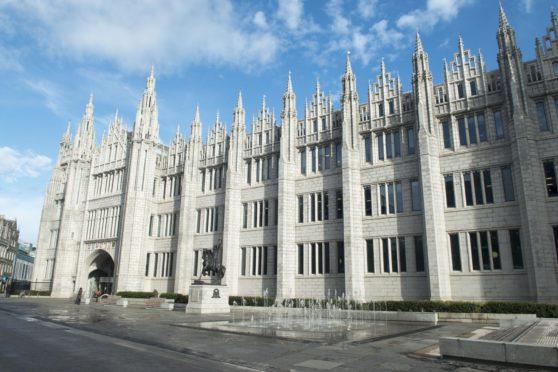 Marischal College, Aberdeen's most iconic granite building