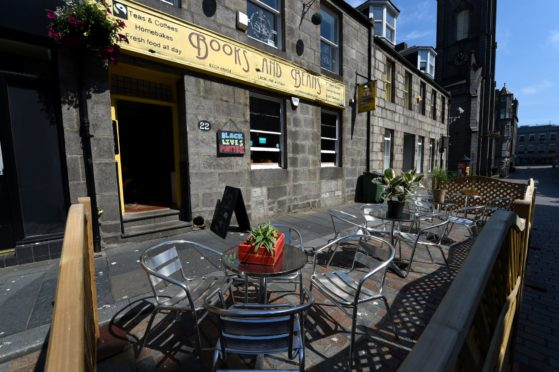 Books & Beans has been promoted on Aberdeen Retail & Hospitality Listings