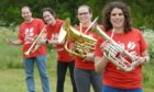 Moray Concert Brass want to attract new members.