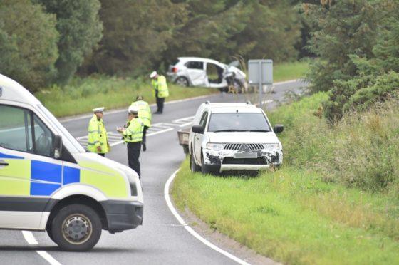 A man has denied killing north-east teacher Yvonne Lumsden in a crash on the A948 Ellon-Auchnagatt road