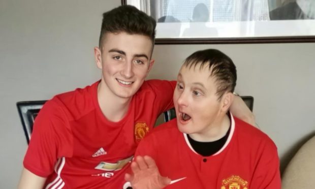 Reece Duncan and his uncle Craig Scott used to enjoy watching football together