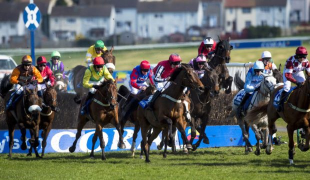 The Scottish Grand National has been moved to Sunday.