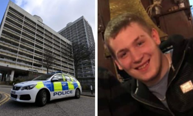 Scott Hector died after being found injured at Marischal Court in Aberdeen, early on Friday morning.