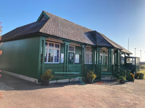 The tennis and bowling club pavilion has been restored